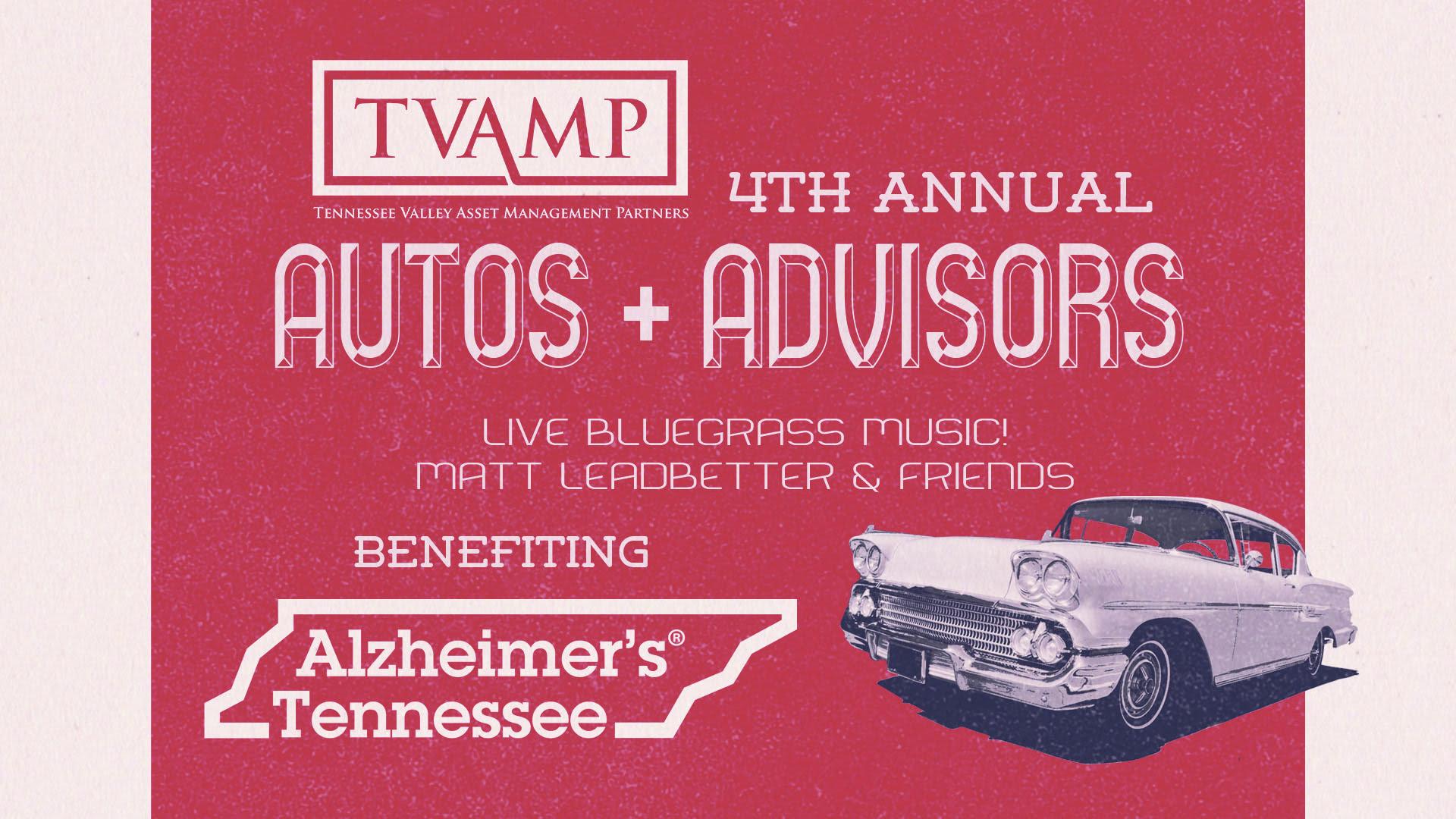 TVAMP Car Show Autos and Advisors 2019
