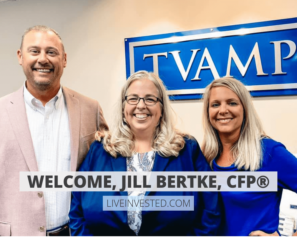 Welcome Jill Bertke, CFP®! To the TVAMP Team!