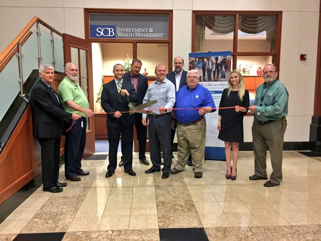 SCB Investment & Wealth Management Ribbon Cutting