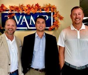 Jeff Sweat, Clint Foster, and Scott Fisher