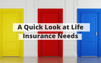 A Quick Look at Life Insurance Needs
