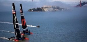 America's Cup Sailboat Races